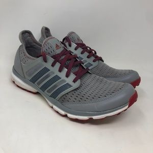 Adidas Gray Clima Cool Running Shoes Sneakers Men